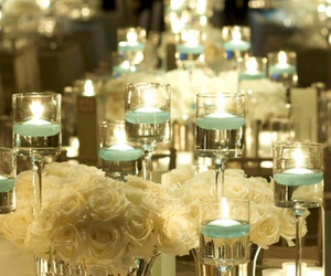 candles, glamour, and table image