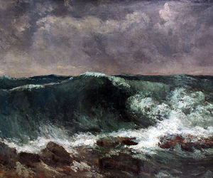 gustave courbet and Painter image