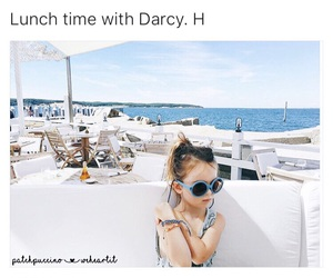 beach, blue, and darcy image