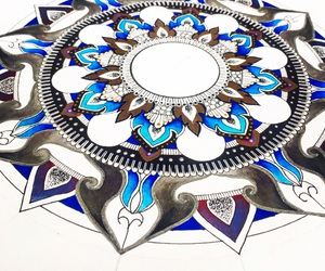 mandala and zentagle image