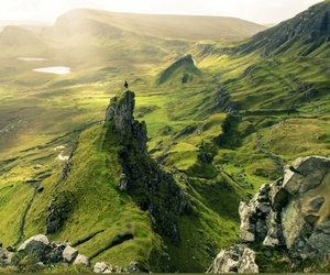 nature, scotland, and green image