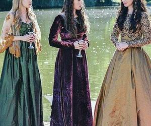dresses, marie stuart, and girls image