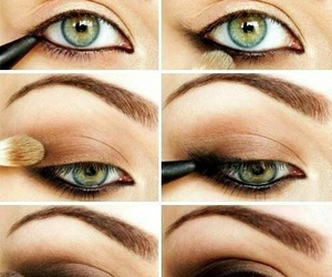 eyes, makeup, and maquillaje image