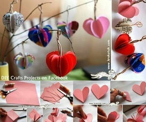 diy, heart, and hearts image