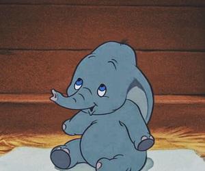 dumbo, disney, and elephant image