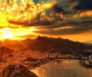 brazil and sunset image
