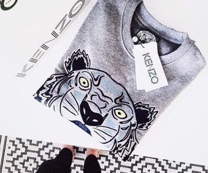 fashion, Kenzo, and outfit image