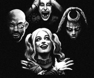 joker, suicide squad, and enchantress image