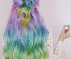 multicolore, haïr, and sugarbearhair image