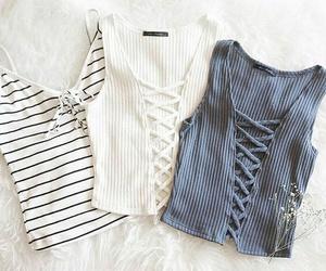 debardeur, fashion, and mode image