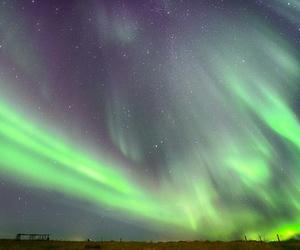 aurora, beautiful, and iceland image