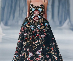 dress, paolo sebastian, and Couture image