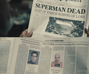 Lex Luthor, superman, and daily planet image