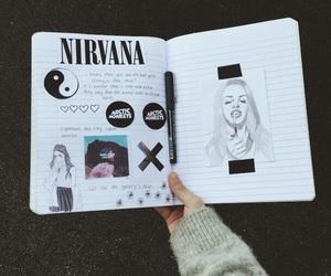 art, drawings, and nirvanna image