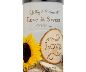 party favors, summer wedding favors, and love is sweet image