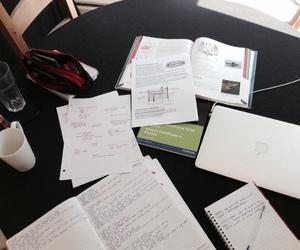 college, studyspo, and hard work image
