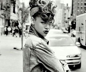 rihanna, black and white, and white image