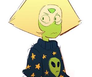peridot, alien, and steven image