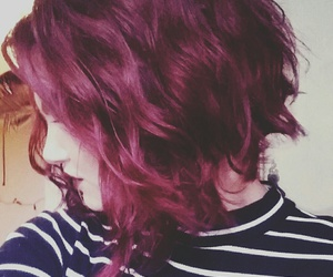 curls, red, and red hair image