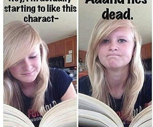 book, funny, and meme image
