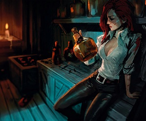 league of legends and miss fortune image