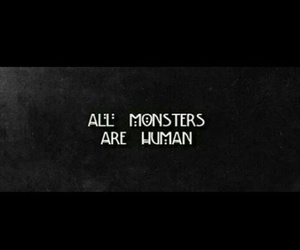 human, monsters, and ahs image