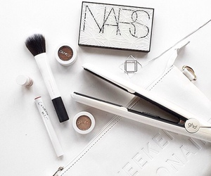 brush, nars, and things. white image