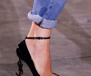 fashion, fashion show, and Yves Saint Laurent image