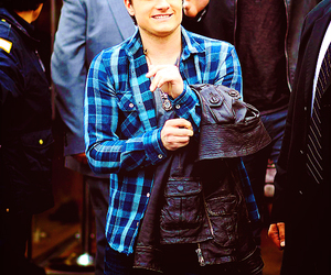 josh hutcherson, boy, and the hunger games image