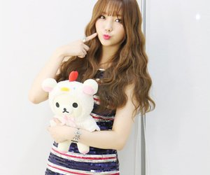 kawaii, red velvet, and rilakkuma image