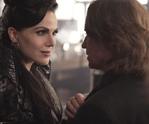 evil queen, once upon a time, and rumplestiltskin image