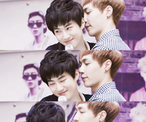 exo, lay, and suho image