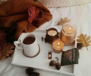 autumn, candle, and goals image