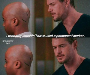 funny, grey's anatomy, and mark sloan image