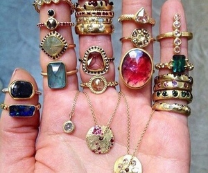 fashion, rings, and gemstones image