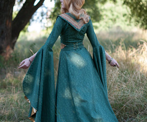 dress, elf, and elven image