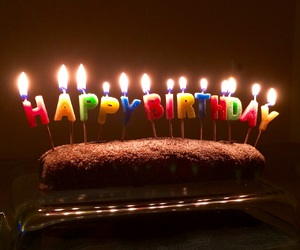 birthday, biscuits, and cake image