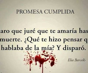 love, death, and promesas image