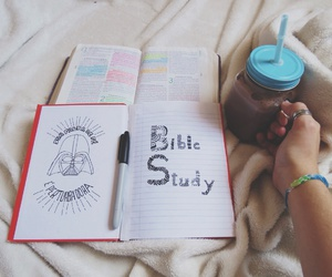 bible, darth vader, and desenho image