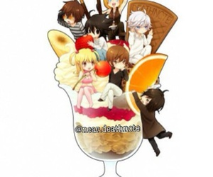 anime, death note, and food image