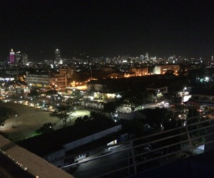city, city at night, and goals image