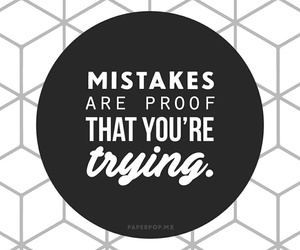 mistakes, wallpaper, and quotes image