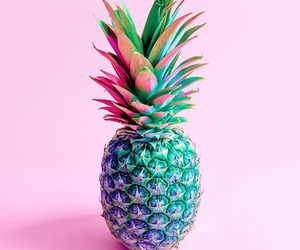 pineapple, pink, and tumblr image