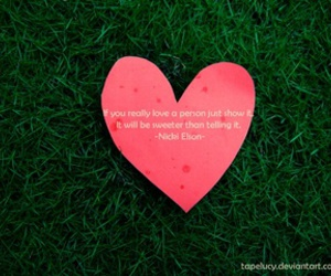 green, quote, and love image