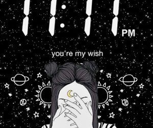 11:11, wish, and background image