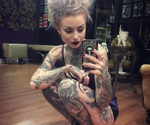 Tattoos, motionless in white, and ryan ashley malarkey image