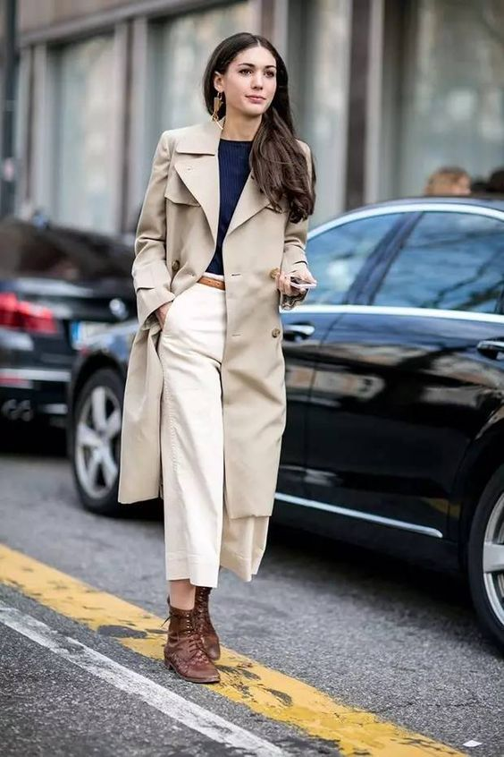 fashion, windbreaker, and ankle boots image