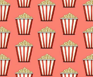 popcorn, background, and pattern image