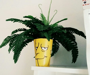 funny, home decor, and plant image