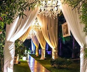 wedding and garden image